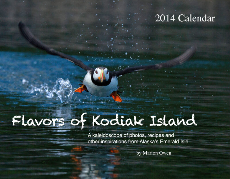 Kodiak, Alaska, photography, workshops, calendar, puffin