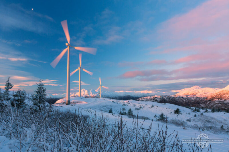 Alternative, energy, wind, turbines, Alaska, KEA
