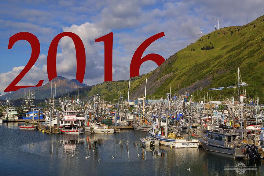 Kodiak, Alaska, harbor, boats, fishing, commercial, New Year, Marion, Owen, photography