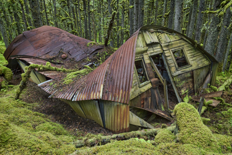Quonset Hut, Kodiak, Alaska, WWII