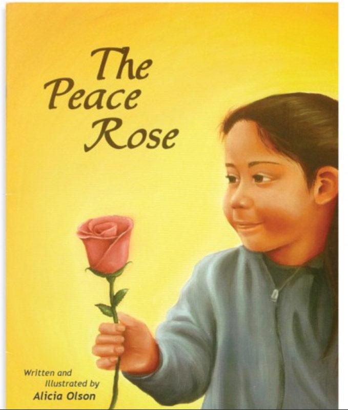 Peace Rose, Alicia Jewell, book, Chicken Soup for the Gardener's Soul, children, Montessouri