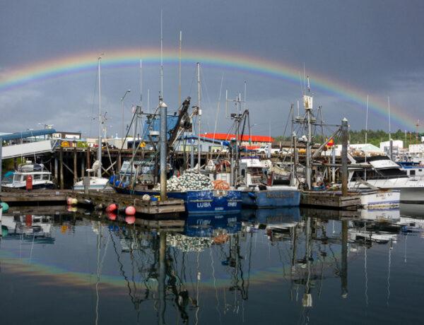 rainbow, weather, marion owen, alaska, nature photography