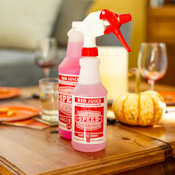 red juice all-purpose cleaning product